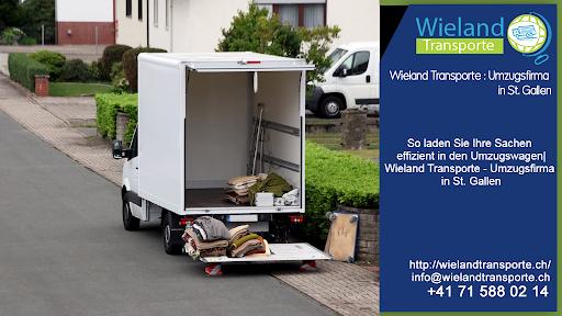 So laden Sie Ihre Sachen effizient in den Umzugswagen  Wieland Transporte - Umzugsfirma in St. Gallen